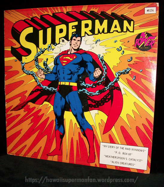 1975PowerRecordsSupermanAlbum