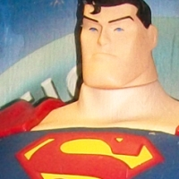 Mattel Justice League Superman 10-inch figure (2003)