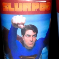 7-Eleven Superman Returns Slurpee cups with lids (2006)