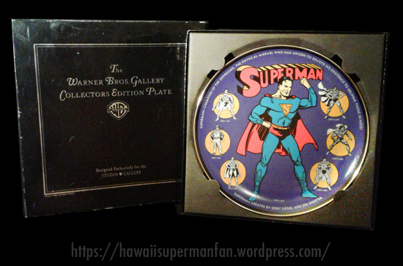 1998warnerbrosstudiostoresupermanplate