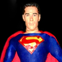 1/6th scale Dean Cain Superman (custom) figure (2002)