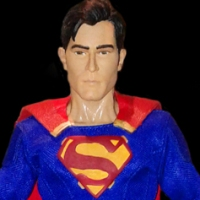 1/6th scale Tyler Hoechlin Superman figure (2017)