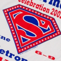2002 Metropolis Illinois Superman Celebration T-Shirt (2002)