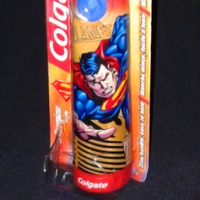 Colgate Superman electric toothbrush (2006)