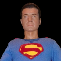 1/6th scale George Reeves Superman (UnleashedViper) figure (2017)