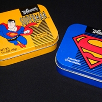 Whitman's assorted chocolates Superman tins (1998)