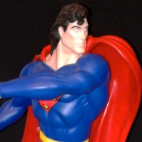 Warner Bros. Studio Store 12.5-inch Superman vinyl figure (1995)