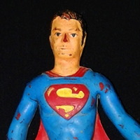 "Mego Bend 'n Flex Superman 5"" figure (1973)"
