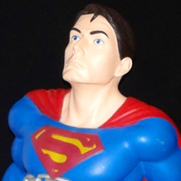 Monogram Superman Returns Superman bust bank (2006)