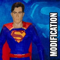 Tyler Hoechlin 1/6th figure modification