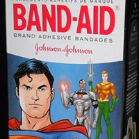 Band-Aid Justice League bandages (2018)