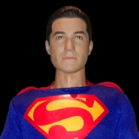 1/6th scale Dean Cain Superman (UnleashedViper) figure (2018)