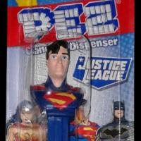 PEZ Justice League Superman candy and dispenser (2020)